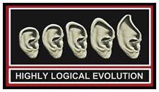 Fridge Magnet: HIGHLY LOGICAL EVOLUTION (Funny Star Trek / Spock Humor)