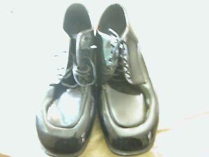 Gateway Mens Dress Lace Up Patent Leather Formal Wedding Bridal Shoes SZ 9
