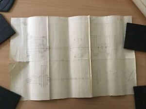 STEAM LOCOMOTIVE CONSTRUCTION MODEL DRAWINGS CURLY LAWRENCE (LBSC) MAID OF KENT