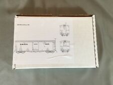 Leadville Shops LSS-9 Sn3 D&RG 30' 4000 Series Boxcar Kit 1869 Version