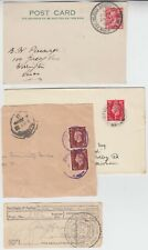 1934/1960 4x items with PHILATELIC CONGRESS, GLASGOW & STAMP EXHIBITION cancels