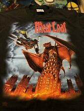 Vintage Meatloaf 90's Everything Louder World Tour Concert Music T- Shirt Large