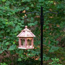 Pennington Cedar Gazebo Wild Bird Feeder, 3 lb. Hopper Capacity