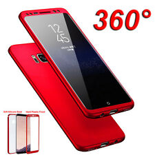 Lot 360° Shockproof Matte Rubber PC Full Cover Case for Samsung Galaxy S8/S8Plus