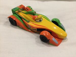 Disney STORE Pixar Cars 2 RIP CLUTCHGONSKI WGP RACER 1:43 Diecast TOKYO DRIFT 3