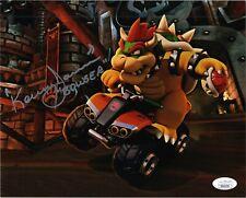 "KENNY JAMES Authentic Signed ""Nintendo Super Mario ~ BOWSER"" 8x10 photo JSA COA"