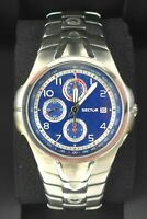 Orologio Sector 210 chrono watch diver clock all stainless steel 43 mm montre