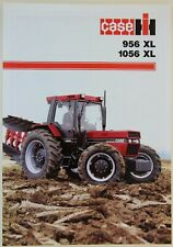 prospectus brochure tracteur CASE IH 956 XL 1056 XL tractor traktor prospekt