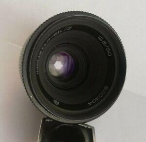 Macro Lens Industar-61 L/Z MC f2.8/50 M42 USSR