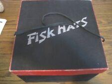 Vintage Fisk Hat Box & Hat!