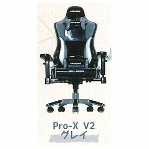 SO-TA Gashapon Capsule AKRacing 1/12 Pro-X V2 Chair Miniature # 4 Black