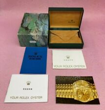GENUINE ROLEX Air-King 14000 Watch box case S.A GENEVE Booklet 68.00.55 B4305