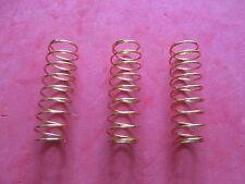 Set of 3 New King Sousaphone/Tuba Valve Piston Springs! Correct Tension!