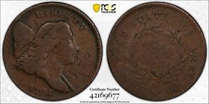 1794 Liberty Cap Half Cent, PCGS G-06