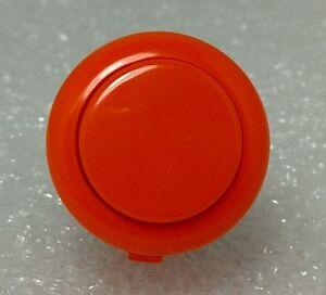 Japan Sanwa Orange Start Buttons x 1 pc OBSF-24-O Video Arcade Parts