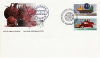 CANADA #1552c-1552d 50¢ HISTORIC FARM & FRONTIER VEHICLES FIRST DAY COVER