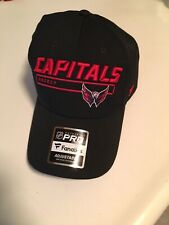 Fanatics Washington Capitals Fundamental Rinkside Adjustable Hat