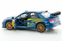 Subaru Impreza WRC 2007, 1:36 scale, 5 inch toy car xmas stocking filler present