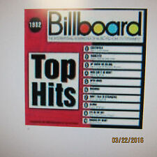 Billboard Top Hits 1982 QRS Pianomation CD