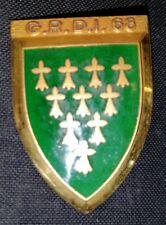 Insigne Militaire Du 68 ème G. R. D. I.