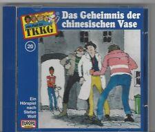 TKKG CD FOLGE 20 DAS GEHEIMNIS DER CHINESISCHEN VASE  - Hörspiel CD