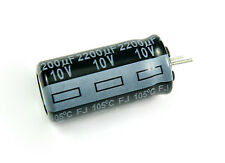 10pcs Panasonic FJ 2200uf 10v 105C Radial Electrolytic Capacitor Low ESR