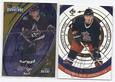 2003 Pacific Moments in Time Autographs #2 Rick Nash Columbus Blue Jackets