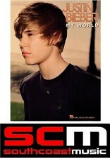 JUSTIN BIEBER MY WORLD SHEET MUSIC SONG BOOK PVG PIANO VOCAL GUITAR BRAND NEW*