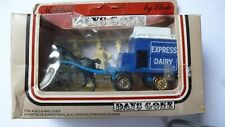 LLEDO DAYS GONE HORSE DRAWN DELIVERY VAN EXPRESS DAIRY