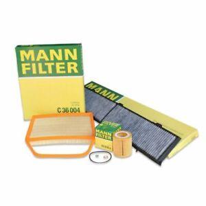 MANN-FILTER Air Oil Cabin Filters RAPKIT343 fits BMW 1 Series E88 135i
