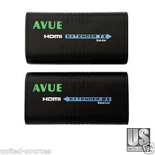 HDMI Extender over cat5/5e/6 up to 400ft