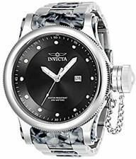 Invicta 23820 Men's Russian Diver Quartz 52 MM Stainless Steel Grey Watch