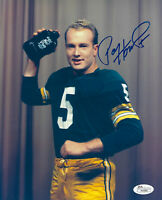 PACKERS Paul Hornung signed 8x10 photo JSA COA AUTO Autographed Dutchland Dairy