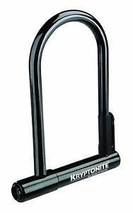 Kryptonite Keeper 12 STD U-Lock with Bracket - Black