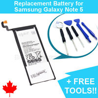 NEW Samsung Galaxy Note 5 Replacement Battery 3000mAh and FREE Repair Tools