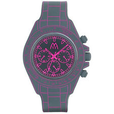 RELOJ MARCO MAHAJAN,DIGITONA MM TIME,DIGITAL PARA LED,DESIGN CHRONO,GRIS,ROSA