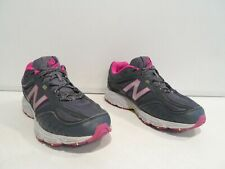 New Balance 510v3 Women's Shoes Size 10 Gray Purple Trail Athletic