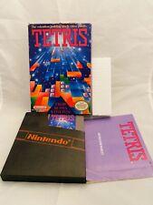 Tetris  Complete Box NES Nintendo Entertainment System 1987