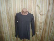 ESPRIT Langarm Sweatshirt Shirt  Dunkelgrau Gr. L TOP  #04-8