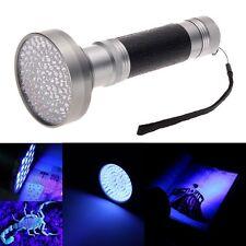 100 LED UV Blacklight Scorpion 395-400nm Taschenlampe Erkennung Licht im freien