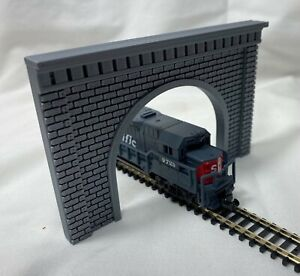 N Scale Model Railroad Train Scenery Southwestern Brick Tunnel Portal