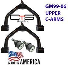 L Chevy GMC Silverado Sierra 1500  Dropped Tubular Upper Control Arms Balljoints