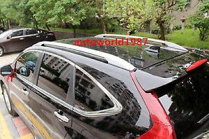 For Honda CRV CR-V 2012-2017 Silver Roof Rack Side Rail Luggage Carrier Bars