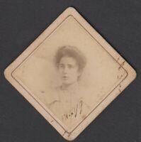 foto albumina ritratto di ragazza by G. Dedeken Firenze 1899