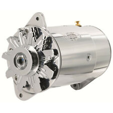 Powermaster Alternator 282051; PowerGEN 75 Amp Polished for