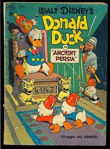 Four Color #275 (Walt Disney's Donald Duck) Carl Barks Art Dell Comic 1950 FR