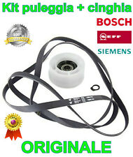 Kit puleggia e cinghia asciugatrice Bosch Siemens Neff Constructa ORIGINALE