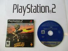 playstation 2: OPS2M DEMO 60 euro destroy all humans