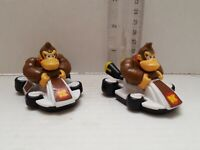 Super Mario Bros Donkey Kong Racing Kart Car Toy (Lot of 2) Fast Shipping
