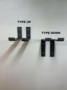 Pair of Heavy Duty Scaffold Board Shelf Brackets Industrial Handmade in UK